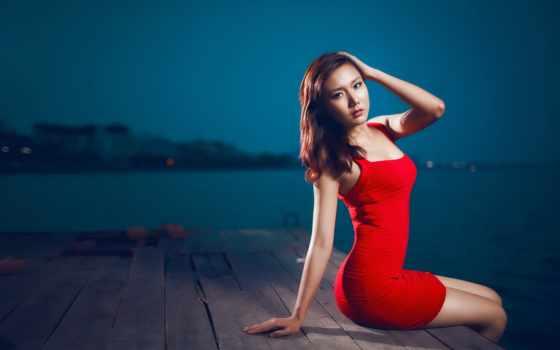 red, платье, lady, только, девушка, igor, ашуров,