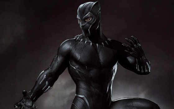 black, panther, concept