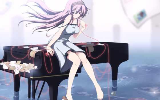 anime, девушка, art