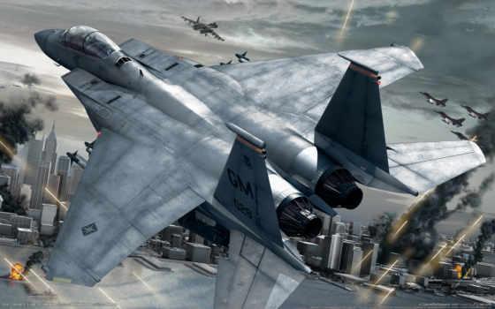 strike, самолёт, орлан