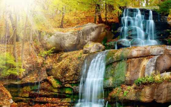 водопады, waterfalls, водопад, desktop, scenery, everything, осень, ultra, каталог,