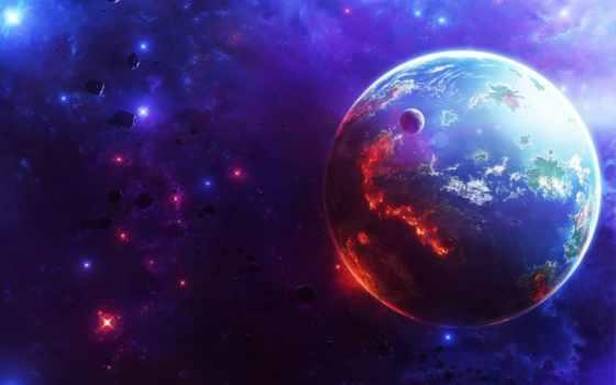cosmos, planet, звезды, планеты, космоса, горы, galaxy, заставки, land, качественные,