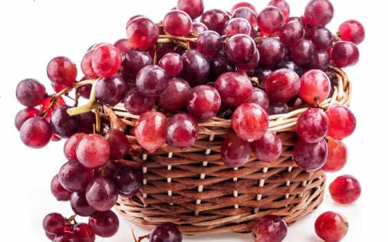 виноград, red, ягоды, плоды, ягода, корзина, raceme, винограда, может, png,