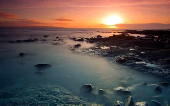 ocean, побережье, море