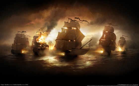 корабли, кораблей, картинка