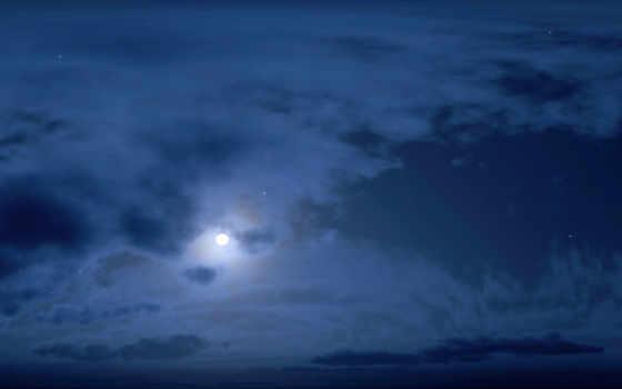 небо, ночь, desktop