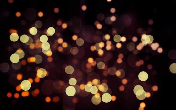 круги, блики, золотой, light, dots, bokeh, abstract, malam, download, смотрите,