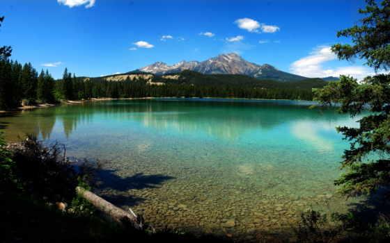 озеро, canada