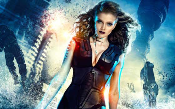 фантастика, стрелок, фильмы, заставки, они, flash, твари, обитают, защитники,