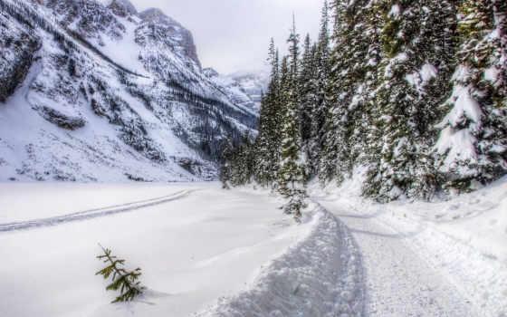 neve, inverno, канада, ди, снег, montagne, winter, mountains, montanhas, природа,