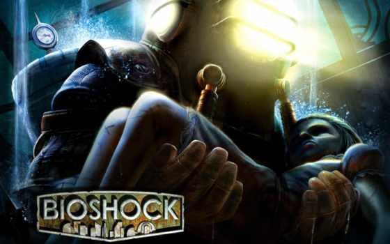 лица, первого, bioshock, шутеры, игры, всех, кб, кинотеатр, сестричка,