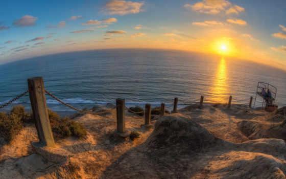 san, diego, пляж, desktop, top, images,