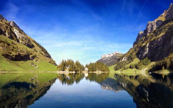 швейцария, summer, desktop