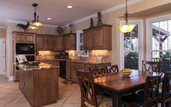 интерьеры, кухни, дома, мебель, интерьер, заказать, wood, desktop,