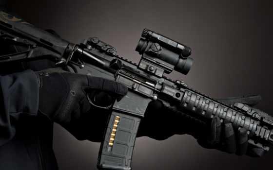 оружие, рисунки, смотреть, m4, черный,