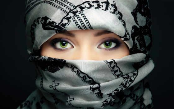 девушка, лицо, devushki, arabian, девушек, восток, банка, но, eyes,
