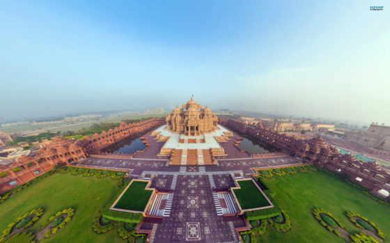 храм, hindu, world, largest, туры, temples, india, листь,