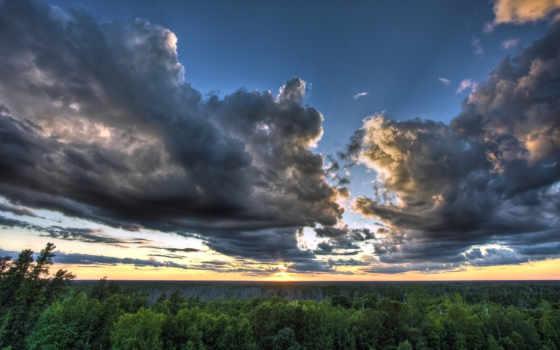 природа, incredible, небо