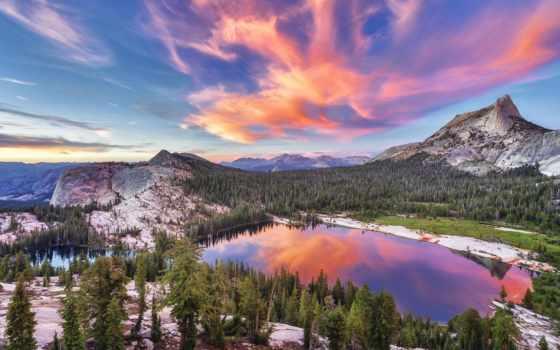 national, yosemite, park, peak, transatlantic, cathedral, калейдоскоп, прекрасные, планеты,