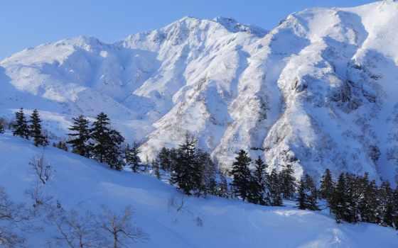 winter, красивые, wallpapersafari, best, mountains, mixed,