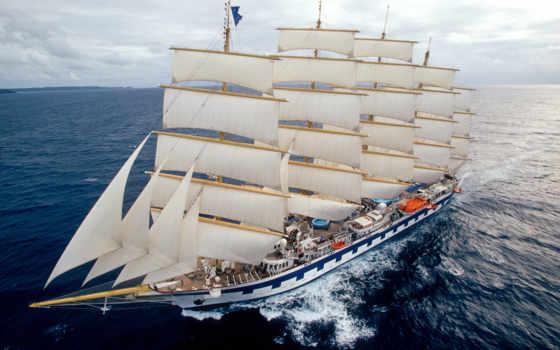 clipper, royal, star, sailboat, clippers, cruises,
