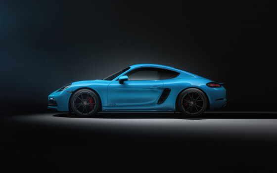 porsche, cayman, blue, car, mobil, sports, авто, машина
