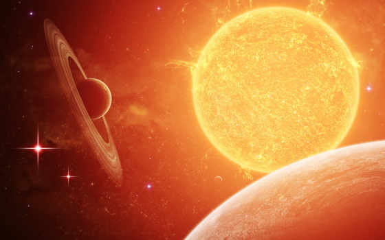 космос, солнце