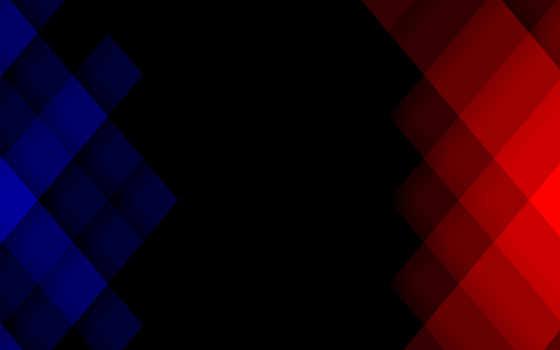 красный, синий