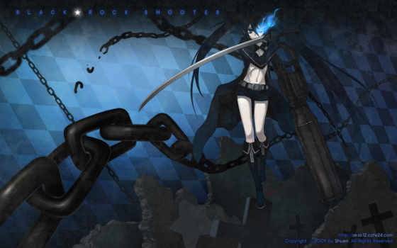 black, rock, shooter, anime, theme, tags, desktop, computers, background, technology,