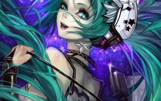 miku, hatsune, vocaloid Фон № 86648 разрешение 1920x1080