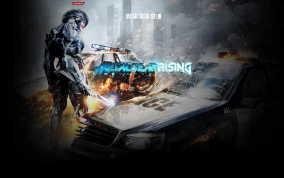 металл, gear, rising, revengeance,