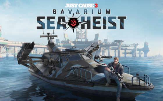 just, cause, море, heist, bavarium, dlc, игры,