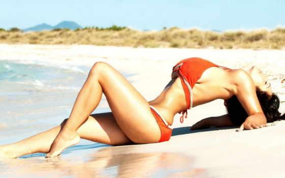 девушка, море, sun, пляж, загар, summer, пляже, water, купальнике,
