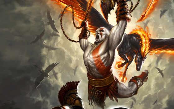 god, war, kratos, прохождение,