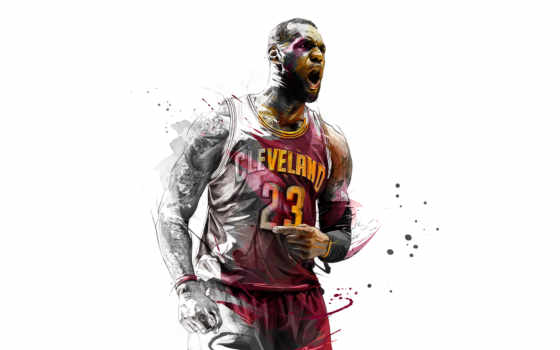 lebron, james, nba, спортсмен,