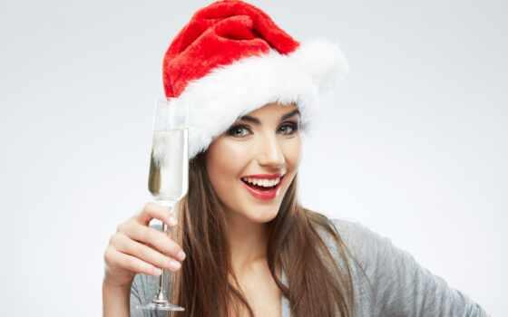 новый, снегурочка, devushka, клипарт, shapka, шампанское, teg, новогоднии, галина, skoryi, prozrachnyi