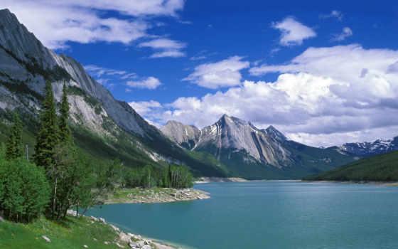 природа, lake