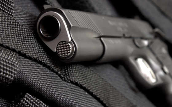 пистолет, дуло