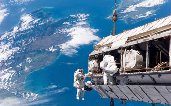 space, космонавты