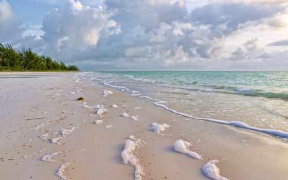 море, побережье, песок