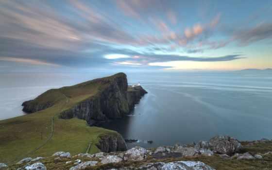 point, neist, lighthouse, шотландия, skye, море, свет, isle, photos,