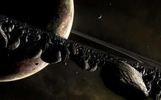 сатурн, planet, rings, planets, system, солнечный, chiron,
