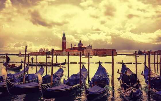 лодка, canoe, house, канал, venezia,