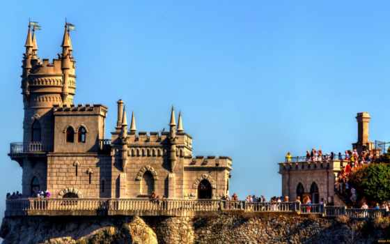 nest, castle, castles, ласточка, ukraine, landscapes, ласточкино, фото, swallows,