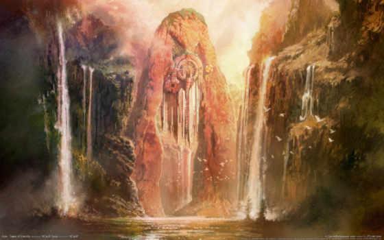 пейзажи -, fantasy, art