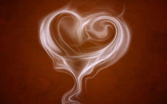 сердце, cuppa, love, дым, сердца, дыма,