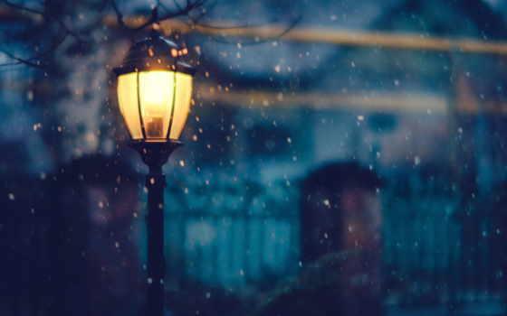 winter, hintergrundbild, nacht, desktop, lichter, schnee,