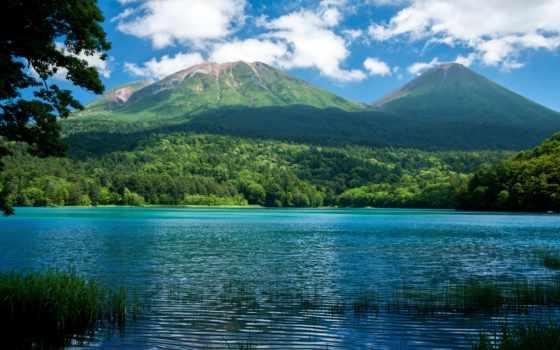 природа, красивые, озера, яndex, озеро, full, горы,