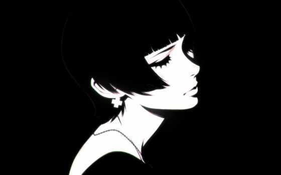 ilia, кувшин, девушка, стрижка, илья, portrait, art, anime, drawing, white, short