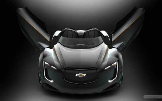 new, concept, car, будущее, сеул, chevrolet, ми, ray, hybrid, авто, cars,